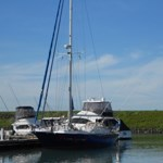 """FRANJIPANI"" Visiting Boat from Germany in LYC Marina"